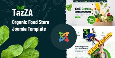 TazZA v1.2 - шаблон Joomla для магазина органических продуктов