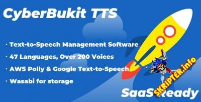 CyberBukit TTS v1.0.5 Nulled - преобразование текста в речь