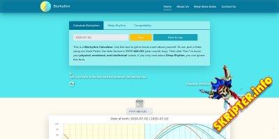 Biorhythm Calculator v1.0 - калькулятор биоритмов