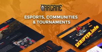 Arcane v3.6.3 - тема WordPress для игрового сообщества