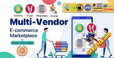 GoMarket v1.0 - мультивендорная торговая площадка