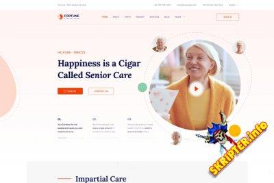 JS Fortune v1.0 - шаблон Joomla дома для благотворительных сайтов