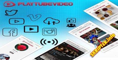 PlayTubeVideo v2.3 Rus - платформа для потокового видео