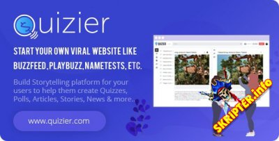 Quizier v3.6.0 Nulled - многоцелевое вирусное приложение
