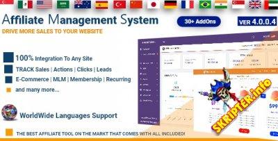 Affiliate Management System v4.0.0.4 Nulled - скрипт партнерской программы