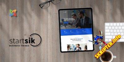 Startsik v1.0 - шаблон Joomla для бизнес консультирования