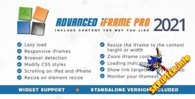 Advanced iFrame Pro v2021 - создание фреймов для Wordpress