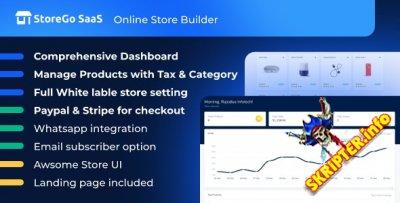 StoreGo SaaS v2.7 Nulled - конструктор интернет-магазинов