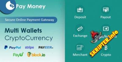 PayMoney v2.9 Nulled - скрипт платежного шлюза