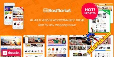 BosMarket v2.0.1 Nulled - мультивендорная тема WordPress для WooCommerce