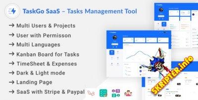 TaskGo SaaS v2.6.0 Nulled - скрипт управления задачами