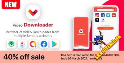 New Video Downloader & Browser App v1.0 - приложение для Android