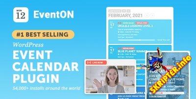 EventOn v3.1.4 Nulled - календарь событий для WordPress