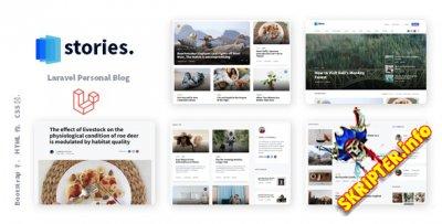 Stories v1.3 - творческий многоязычный блог