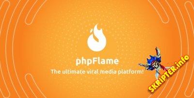 Flame v1.4.1 Rus - скрипт социальной сети