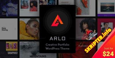 Arlo v3.7 Rus Nulled - тема портфолио для WordPress