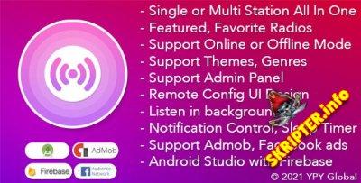 XRadio v4.0 - приложение радио для Android