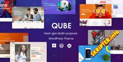 Qube v1.1.3 Nulled - тема WordPress для бизнеса