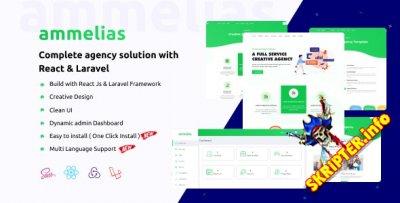 Ammelias v1.4 - CMS бизнес сайта