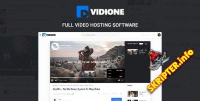 Vidione v1.5.1 - скрипт обеспечение онлайн-медиаплатформы