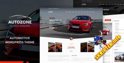 Autozone v5.3.6 Nulled - автомобильный шаблон для WordPress