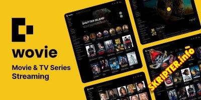 Wovie v1.0.2 - скрипт потоковой передачи фильмов и сериалов