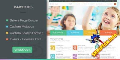 Baby Kids v4.0 - образовательная тема для WordPress