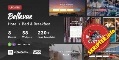 Bellevue v3.3 - тема сайта отеля для WordPres