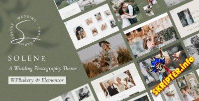 Solene v2.3.1 Nulled - WordPress тема свадебной фотографии