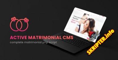 Active Matrimonial CMS v3.1 Nulled - скрипт сайта знакомств