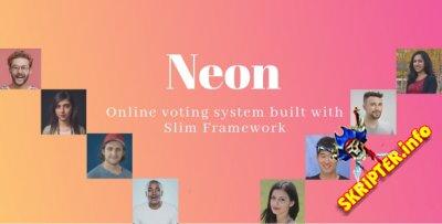 Neon 8.05.2021 - система онлайн-голосования