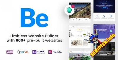 BeTheme v23.0.1 Rus Nulled - многоцелевая тема для WordPress