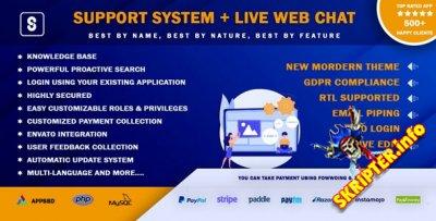 Support System v3.2.0 Nulled - служба поддержки клиентов