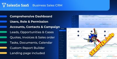 SalesGo SaaS v2.4.0 - CRM для бизнес-продаж