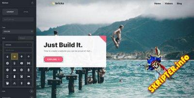 Bricks v1.3.3 Rus Nulled – визуальный конструктор сайтов WordPress