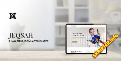 Jeqsah v1.0 - шаблон Joomla для юристов и адвокатов