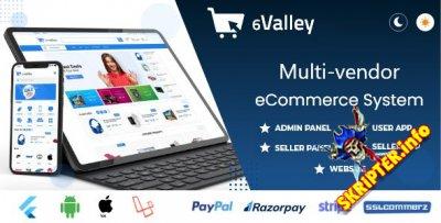 6Valley Multi-Vendor E-commerce v3.0 - скрипт электронной коммерции
