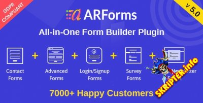 ARForms v5.0 Rus Nulled - конструктор форм для WordPress