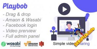 Playbob v1.0 Nulled - скрипт для обмена видео