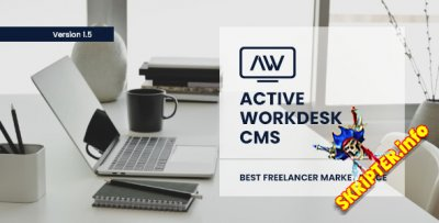 Active Workdesk CMS v1.5 - скрипт торговой площадки