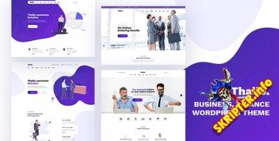 Thallo v1.0.6 - тема WordPress для консалтинга и финансов