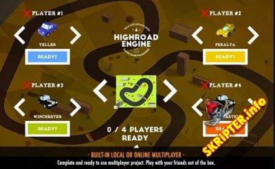 Highroad Engine v1.2.2 - конструктор игр