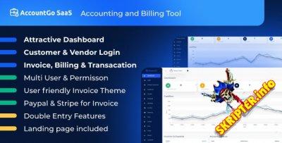 AccountGo SaaS v3.3.0 - скрипт учета и выставления счетов