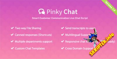 Pinky Chat v1.2 - скрипт чата поддержки