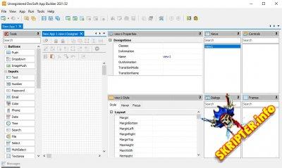 App Builder 2021.52 Cracked – конструктор приложений для Android и IOS