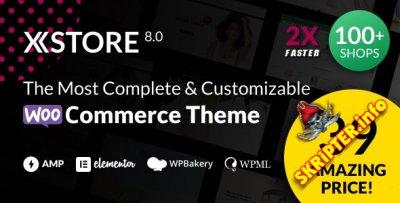 XStore v8.0.4 Rus Nulled – тема интернет-магазина для WordPress
