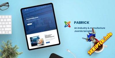 Pabrick v1.0 - промышленный шаблон для Joomla
