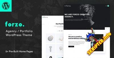 Forzo v1.3.3 - тема креативного агентства для WordPress