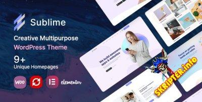 Sublime v1.0 - творческая многоцелевая тема для WordPress