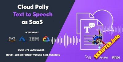 Cloud Polly v1.0.0 Nulled - скрипт преобразования текста в речь